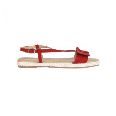 lipstick sandals