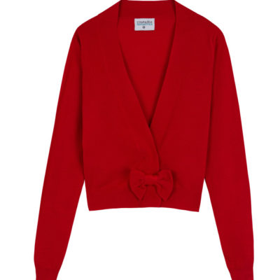 Audrey Red Cardigan