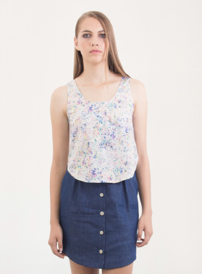 Blusa Multicolor Argot y Margot