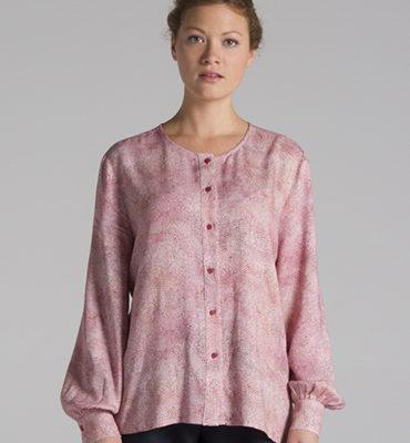 blusa circulos rosa Blu Velt