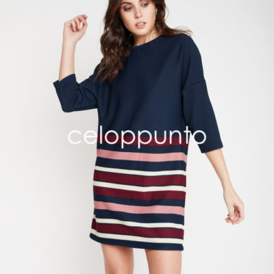 vestido-pique-rayas-azul-celop-punto
