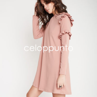vestido-doble-volante-rosa-celop-punto