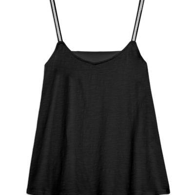 camiseta-tirantes-brillantes-negra-yerse