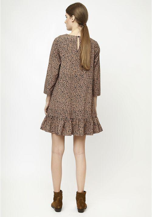 vestido-marron-animal-print-compañia-fantastica
