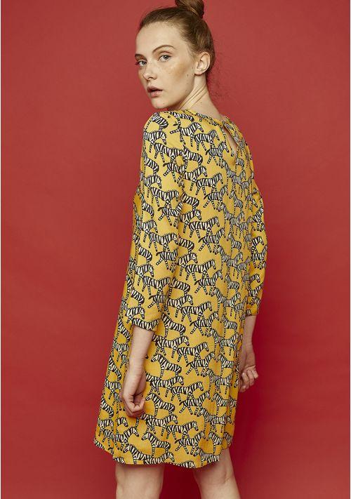 vestido-cebras-amarillo-compañia-fantastica