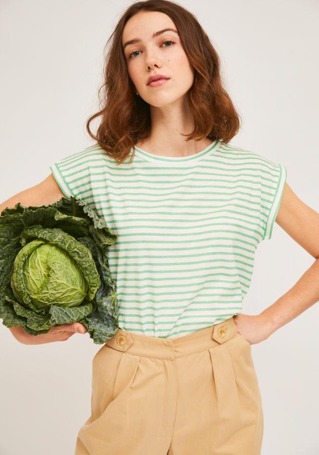 camiseta-rayas-verdes-compañia-fantastica